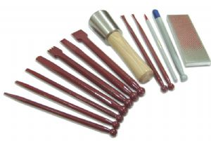 Carbide Tipped Sculptors Stone Carving Kit for Marble & Soft Stone